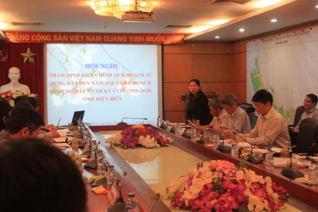 Hội đồng thẩm định điều chỉnh quy hoạch sử dụng đất đến năm 2020 và kế hoạch sử dụng đất 5 năm kỳ cuối 2016-2020 cho tỉnh Điện Biên